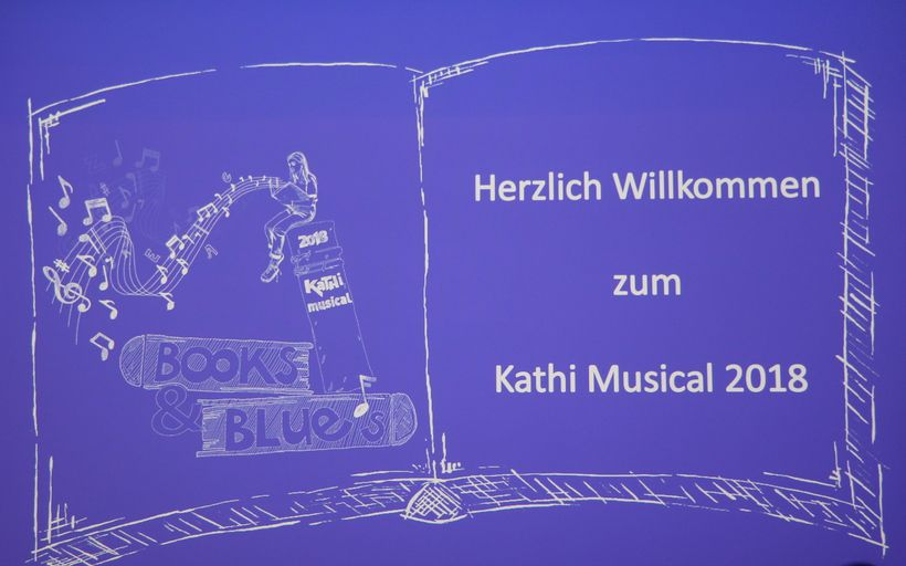 Books & Blues, das Kathi Musical 2018